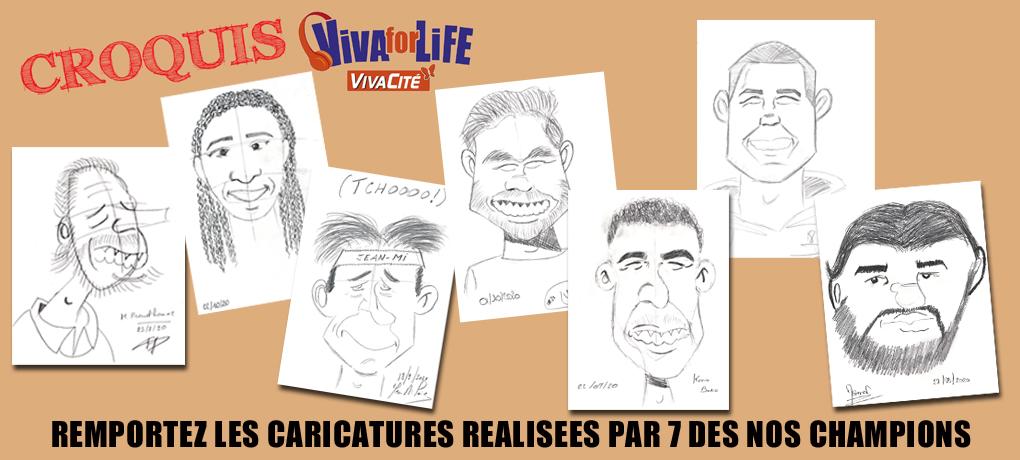 Remportez les dessins uniques du Croquis Challenge !!!